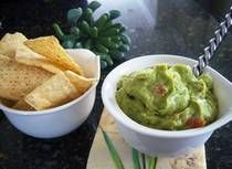 Gluten-Free Homemade Guacamole |  Homemade guacamole is so easy to make, especially when you use a food processor to prepare this healthy recipe. Our recipe for gluten-free homemade guacamole is full of fresh, authentic flavor - a must for Cinco de Mayo celebrations!