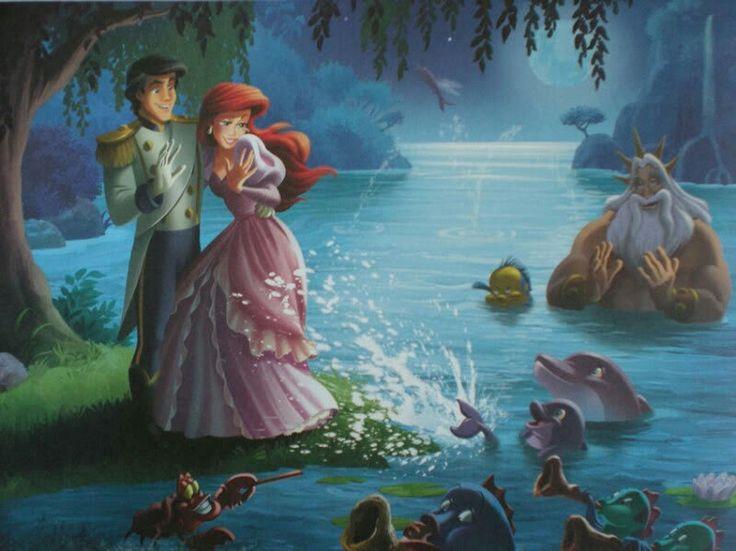 338 best Eric Ariel images on Pinterest Disney princesses