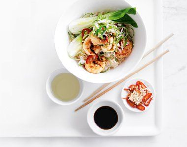 Prawn Fried Rice with Bok Choy recipe, brought to you by MiNDFOOD.