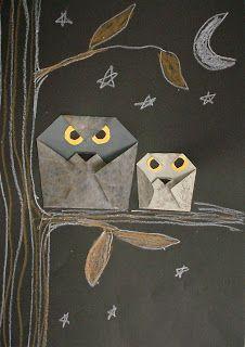 Orogami owl