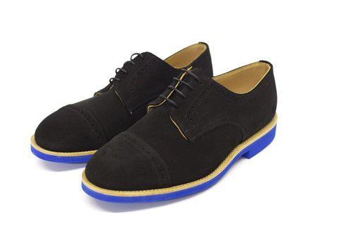 Black Suede Cap Toe by Mark Mcnairy - $398.00Mcnairy Black, Amsterdam Black, Toes Blue, Head Of Garlic, Cap Toes, Suede Cap, Toes Voor, Black Suede