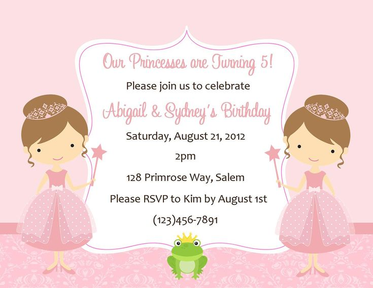 7 best layouts images on Pinterest Baby girl shower, Business - best of invitation for 1st birthday party free