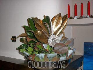 """""""Cloodreams""""......   cio' che la mente pensa la mano crea: DECORAZIONI NATALIZIE DA ESTERNO Per approfondire: cloodreams.blogspot.com etichetta: Natale a tutto tondo"""