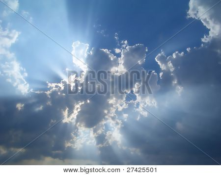 Photo : Cloud in the sky
