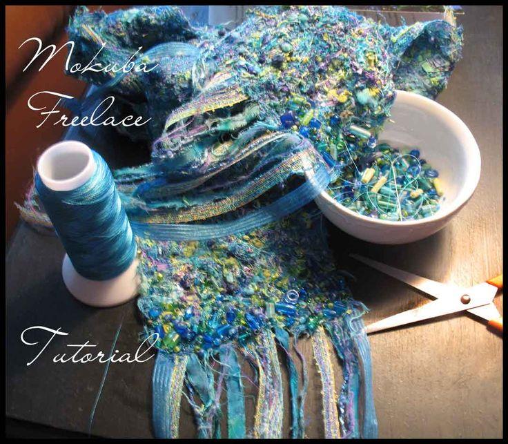 Free Tutorials   Feathered Fibers by Carla Barrett