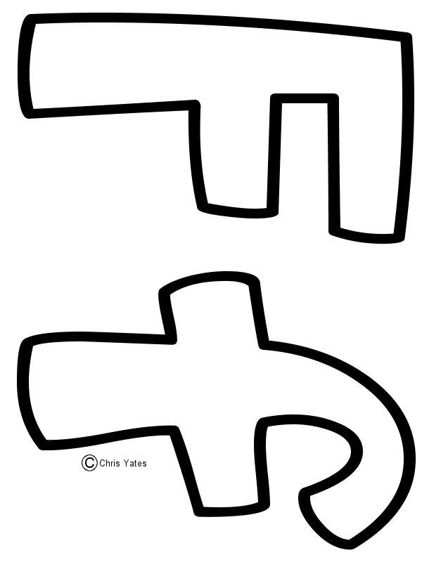 34 best ABC templates images on Pinterest Letters, Alphabet - letter i template