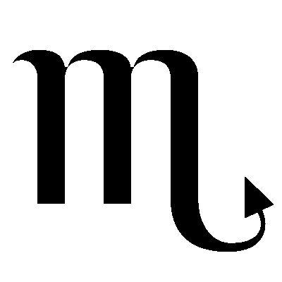 Image result for scorpio symbol