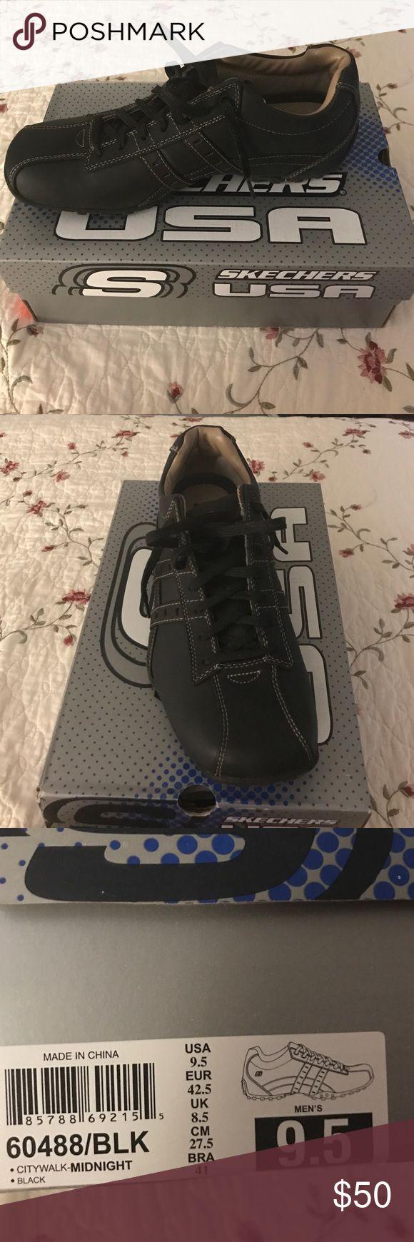 "Skechers ""Citywalk"" All black Skechers shoes. Never worn still in original box. Skechers Shoes Sneakers"