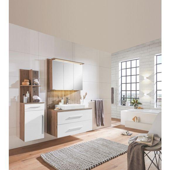 Badezimmer Von XORA In Stilvollen Eichefarben Mit Elegantem Weiß!