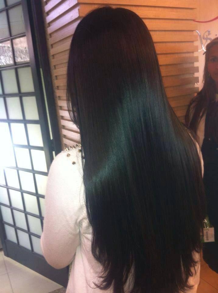 Image Result For Long Straight Black Hair