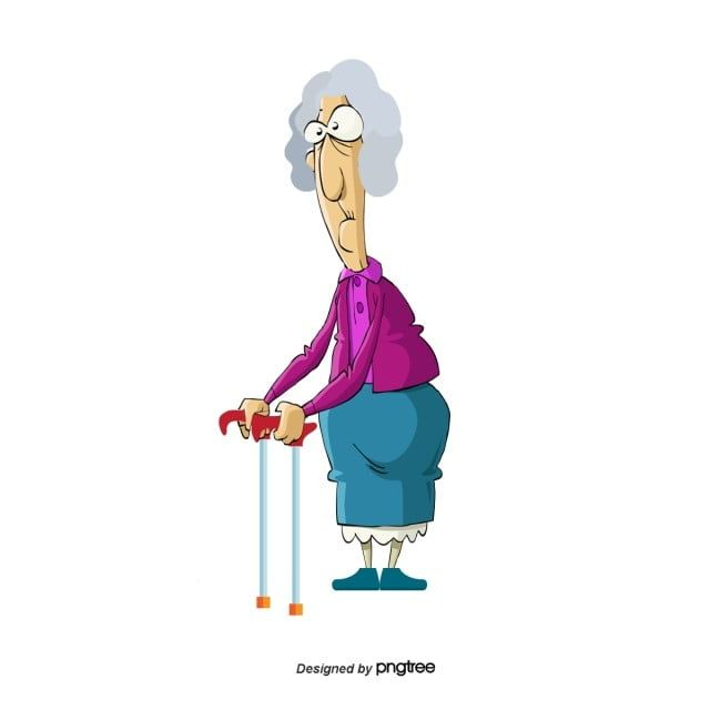 Vector Old Lady Old Lady Clipart Vector Character Cartoon Characters Png Transparent Clipart Image And Psd File For Free Download Old Lady Cartoon Vector Character Cartoon