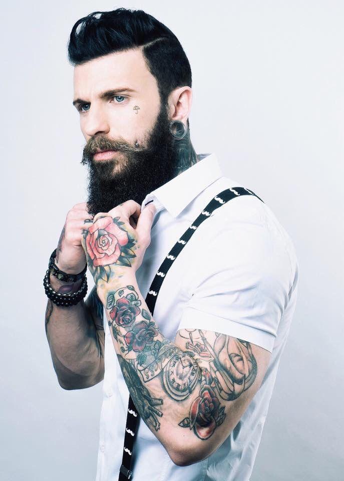 Les 25 meilleures id es de la cat gorie barbus sur pinterest beaux hommes barbus barbes et - Barbe hipster chic ...