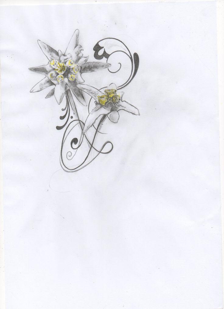 Edelweiss Flower Tattoo Edelweiss tatt