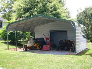 Epic Regular Double Car Utility Carport