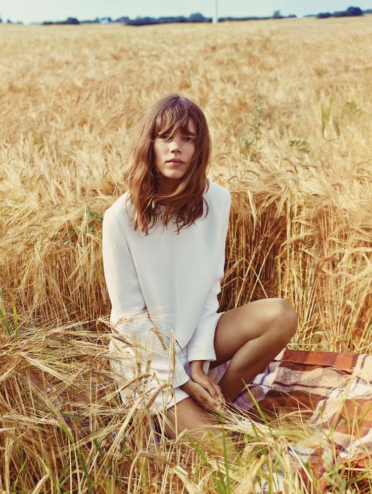 "Freja Beha Erichsen in ""Shore Leave"" by Cass Bird for Vogue UK, January 2014: Freja Beha Erichsen, January 2014, Style, Frejabehaerichsen, Uk January, Vogue Uk, Cass Birds, Fashion Editorial, Hair"