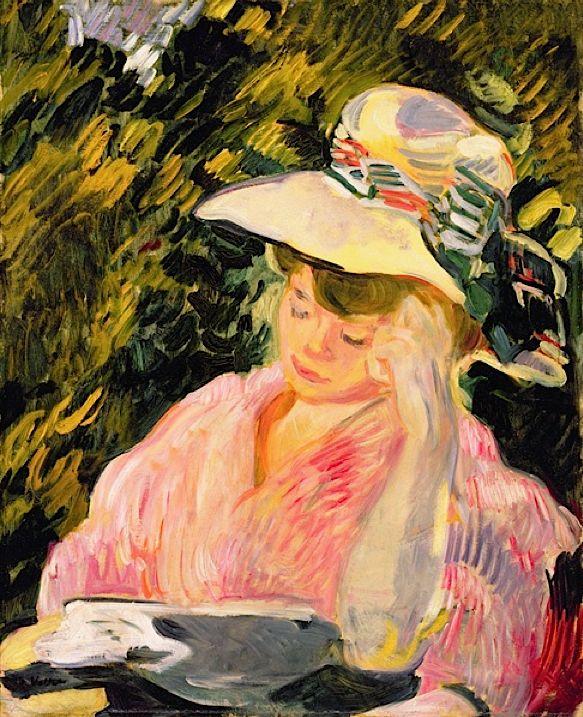 bofransson:    Madame Valtat, 1906 (oil on canvas), Valtat, Louis (1869-1952)