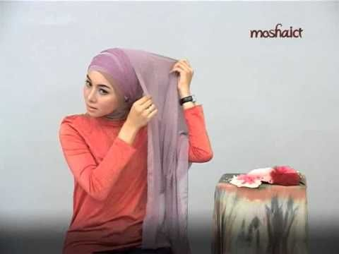 Beautiful formal event hijab