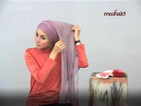 Beautiful formal event hijab