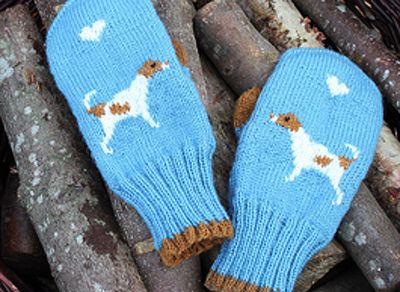 Free dog mittens knitting pattern
