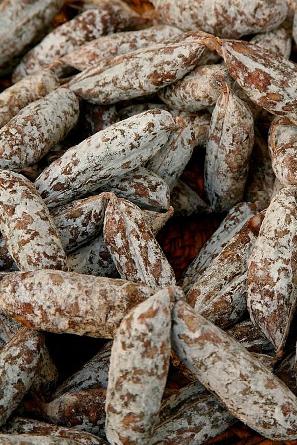 salsicce di cinghiale