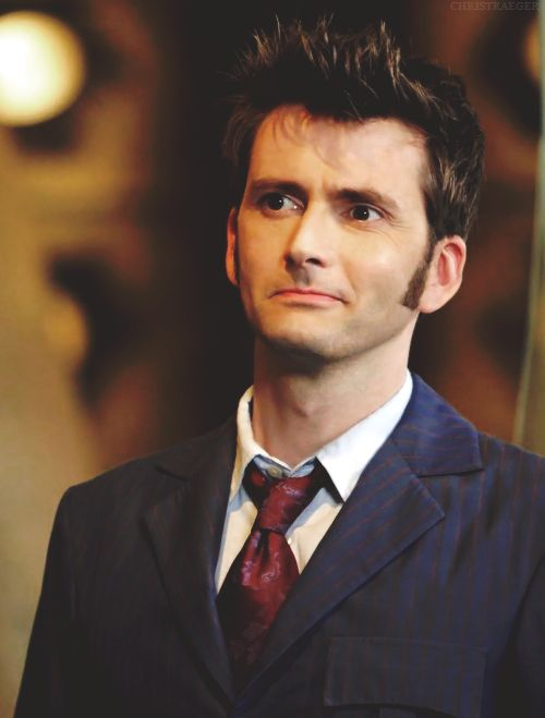 David Tennant as the Doctor :)