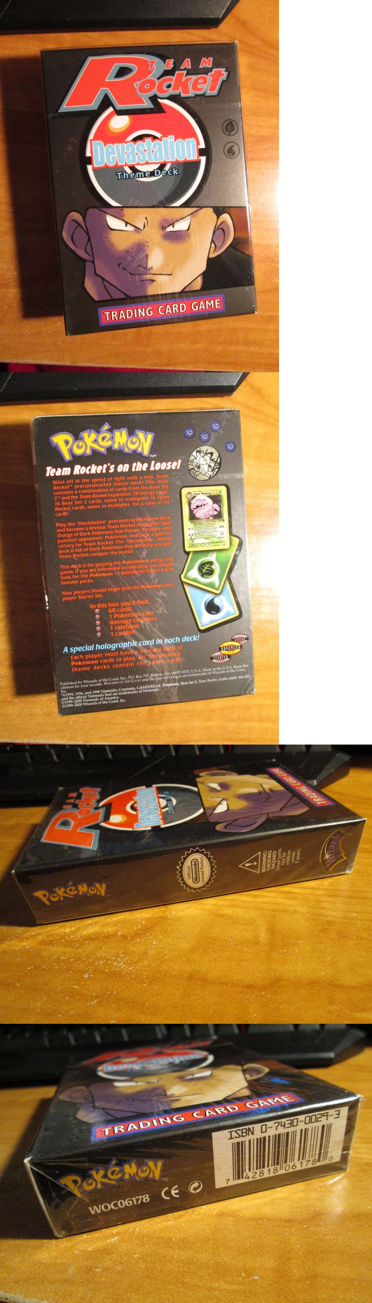Pok mon Complete Sets 104046: Sealed Complete Pokemon Devastation Card Team Rocket Set Theme Deck Holo Weezing -> BUY IT NOW ONLY: $34.99 on eBay!