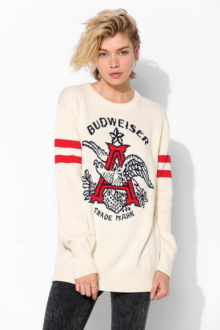 Junk Food Budweiser Sweater urbanoutfitters