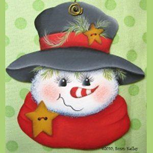 Simple Snowman ePattern #252010
