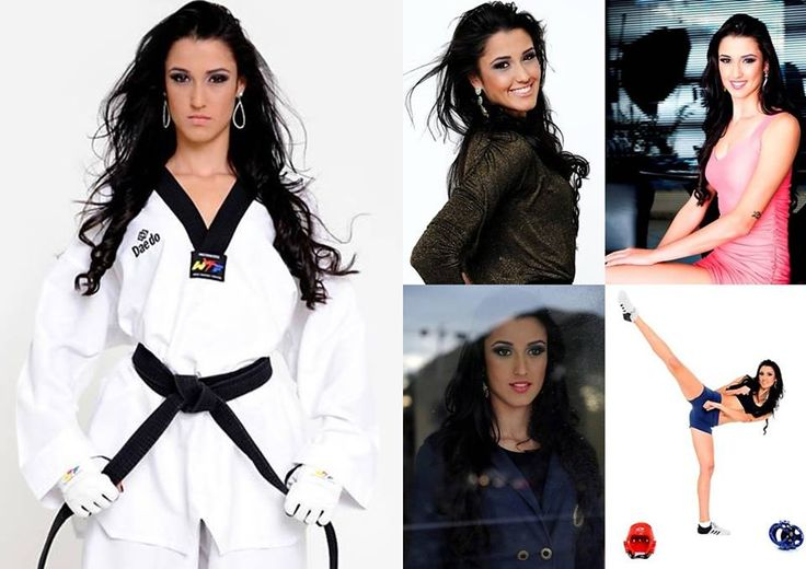 TOP 10 – Sexiest Female Taekwondo Athletes Alive – 2°position Talisca Reis