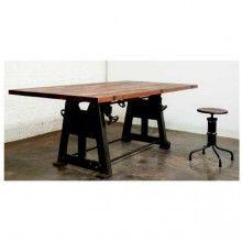 Press Leg Dining Table-Hardwood