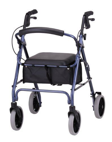 Nova Zoom 22 Rolling Walker, Blue by Nova. $118.98. Live life to the fullest with your Nova  the very best in Rolling Walkers.  Improve your overall mobility, safety, independence and style by selecting from Novas extensive line of Rolling Walker and Accessories. Novaas unique as you are.  Foldable, flip up back,the large padded seat makes sitting comfortable with a 2 thick pad.