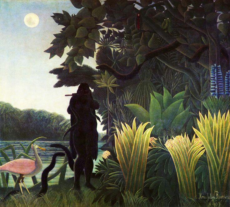snake charmer -  Henri Rousseau