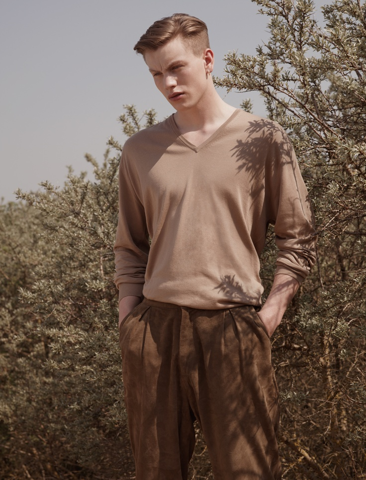 John Smedley SS12 Collection - Roe Pullover