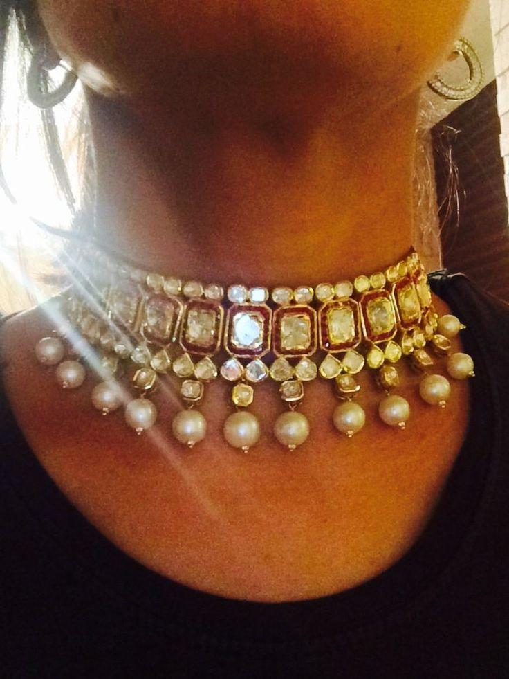 Bridal uncut diamond/ polki sets - Sitara