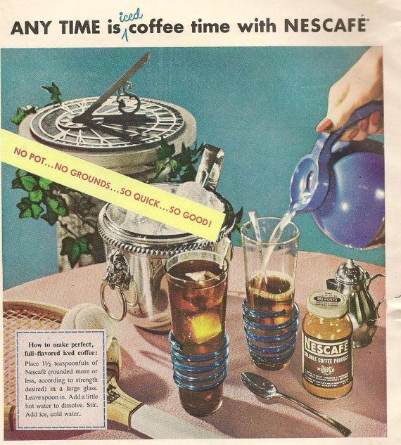 Nescafe Instant Coffee and Ivory Snow for by TheOldBarnDoor