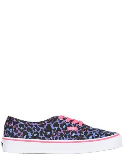 VANS 20MM AUTHENTIC CANVAS PRINTED SNEAKERSNone