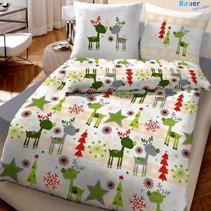 bettw sche 135x200 cm elche elch gr n silber natur 47771 biber lustig elch bettwaesche und biber. Black Bedroom Furniture Sets. Home Design Ideas