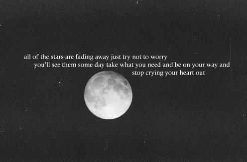 oasis stop crying your heart out, its just beautiful