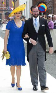 Hereditary Grand Duchess Stéphanie, June 18, 2016 | Royal Hats