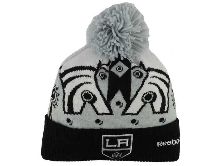 Los Angeles Kings Reebok NHL 2014-2015 Stadium Series Pom Knit