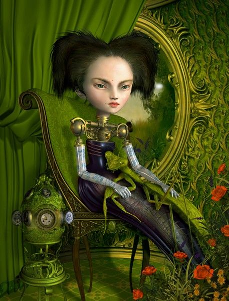 Mother Mantis by Ray Caesar