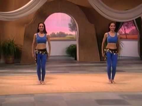 Танец живота для начинающих Часть 1 - YouTube