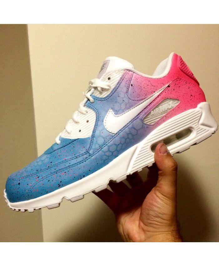 Nike Air Max 90 Cotton Candy Custom Deals