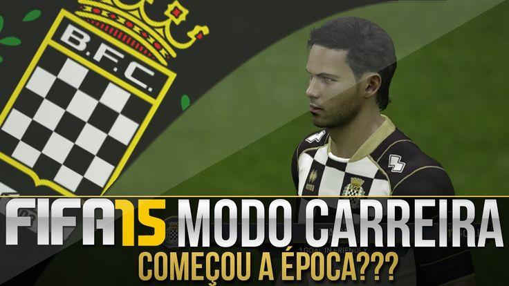 FIFA 15 - MODO CARREIRA #03   COMEÇOU A ÉPOCA???