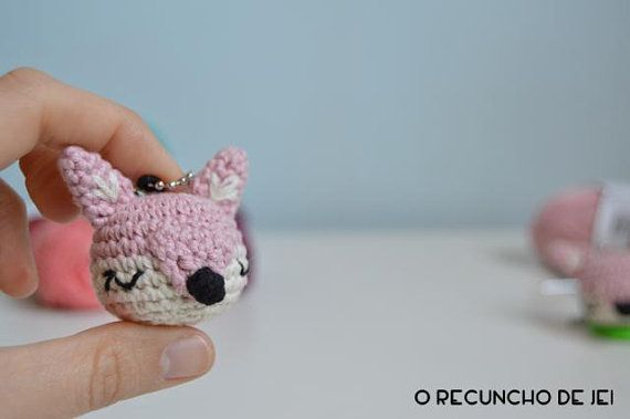 Amigurumi: cute little crochet fox. | Ursos de pelúcia de crochê ... | 379x570
