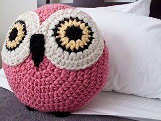 cojines a crochet de animales - Buscar con Google