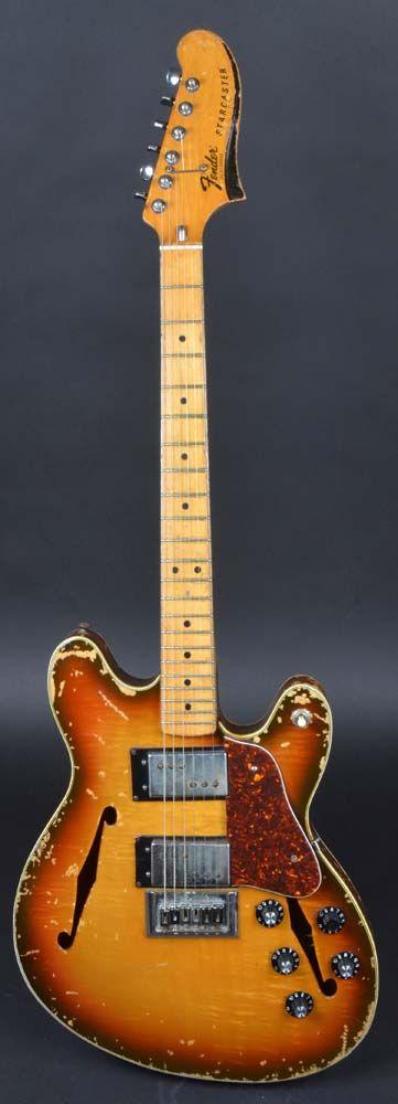 Fender Starcaster 1977 Sunburst Rare