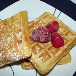 Rich Danish Waffles Allrecipes.com