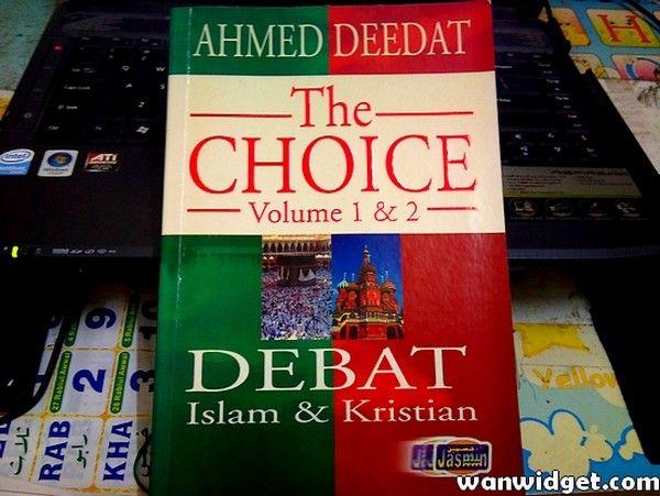 Buku Ahmed Deedat - The Choice - MyRujukan