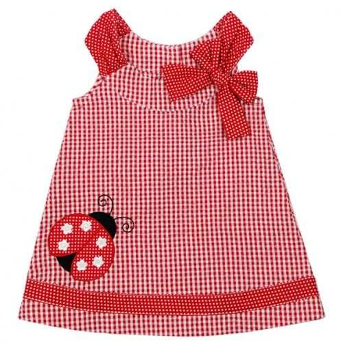 If I had a little girl I'd so dress her in this.  How cute!